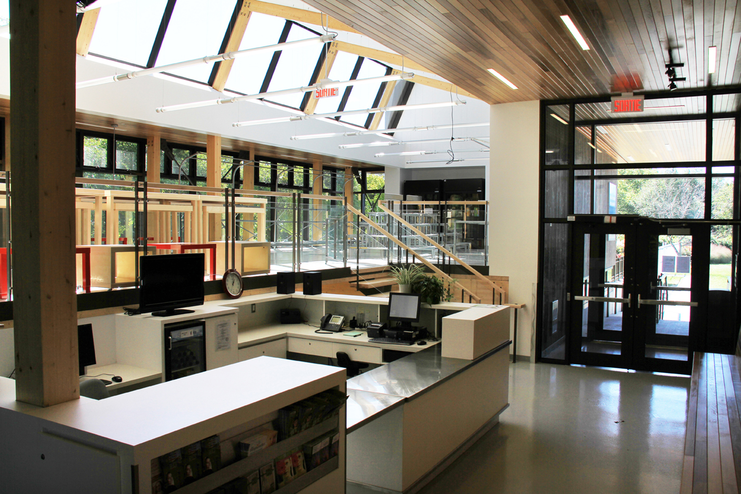 Pavillon horticole écoresponsable – ITA Campus de St-Hyacinthe Cecobois 4