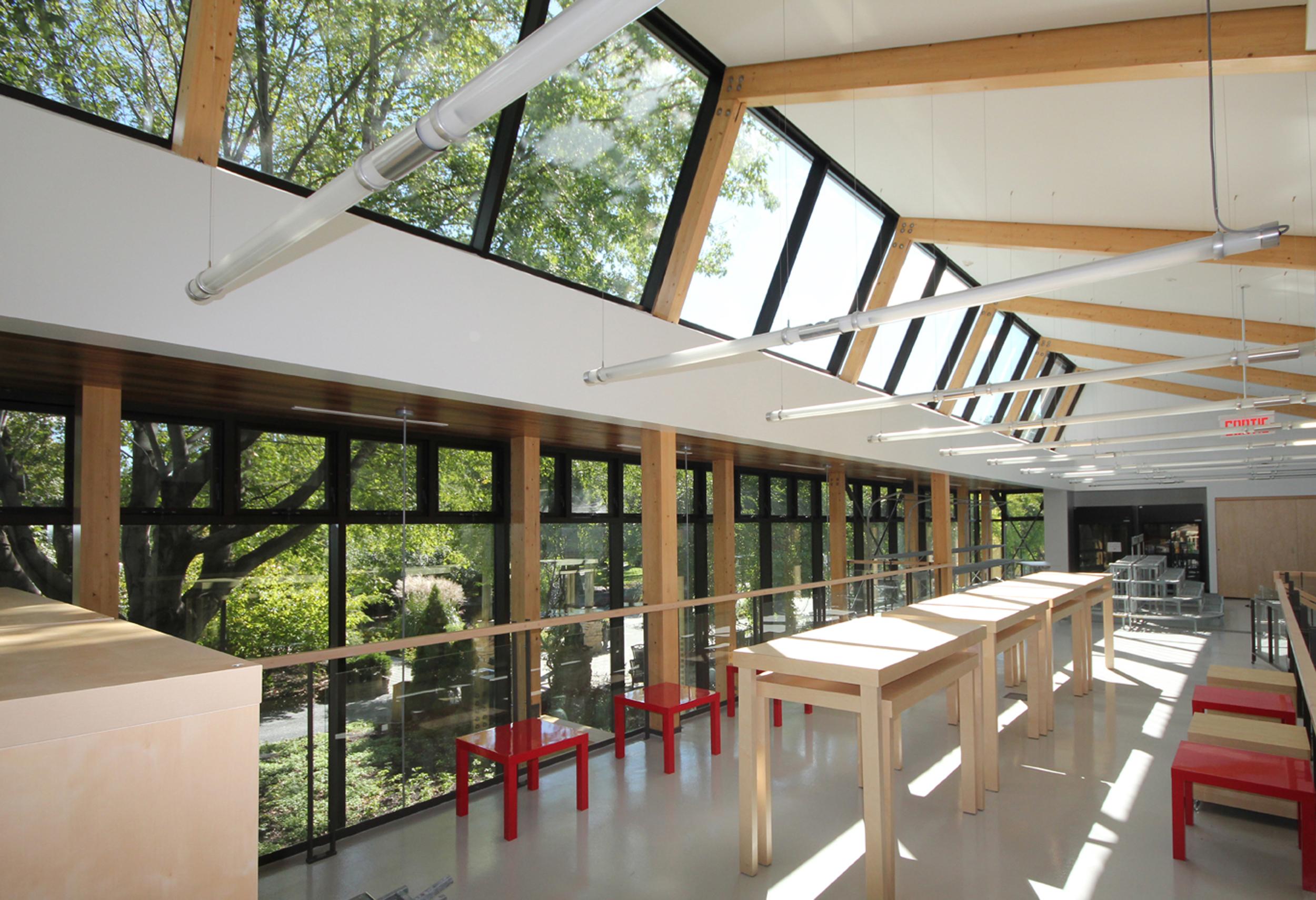 Pavillon horticole écoresponsable – ITA Campus de St-Hyacinthe Cecobois 5