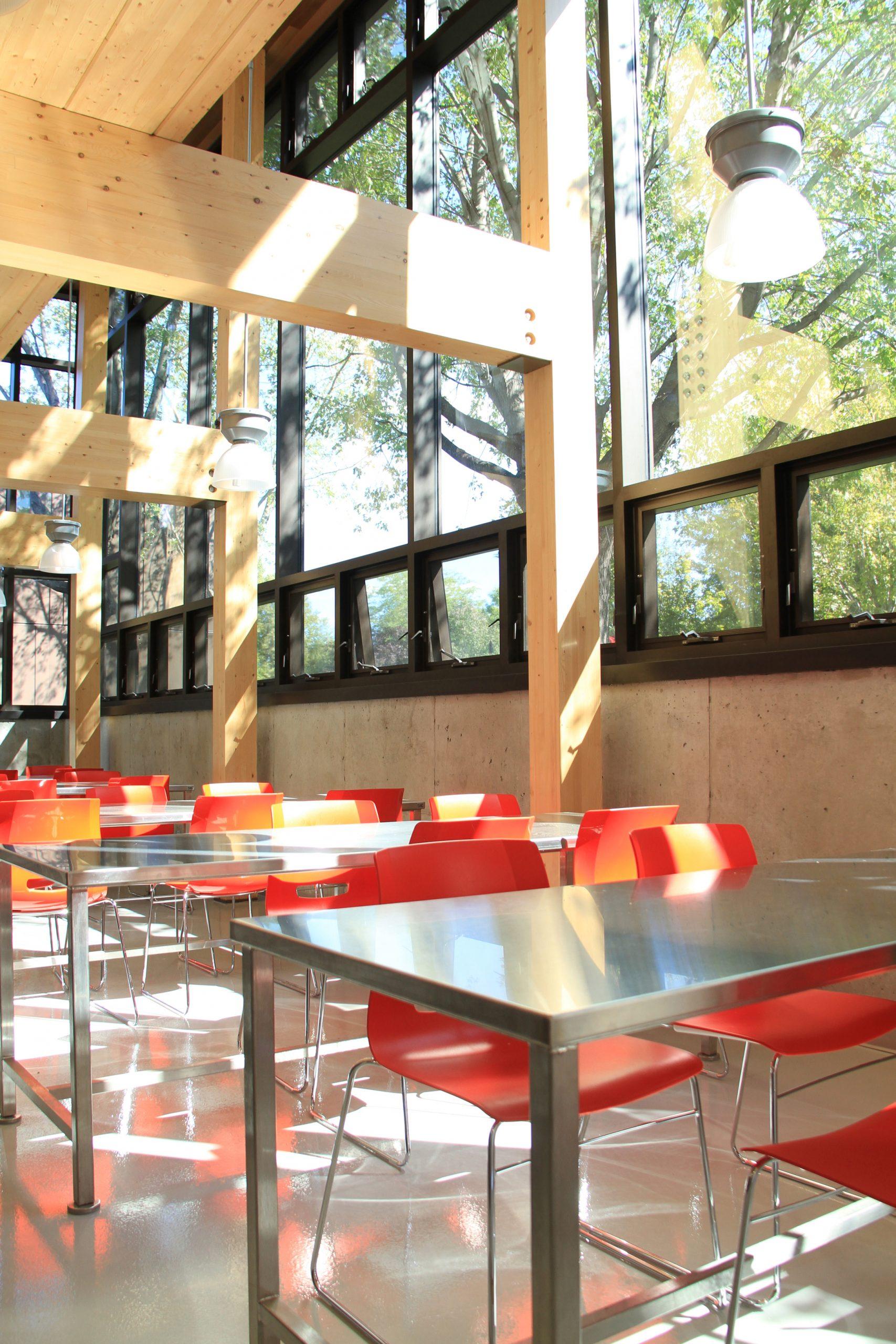 Pavillon horticole écoresponsable – ITA Campus de St-Hyacinthe Cecobois 6