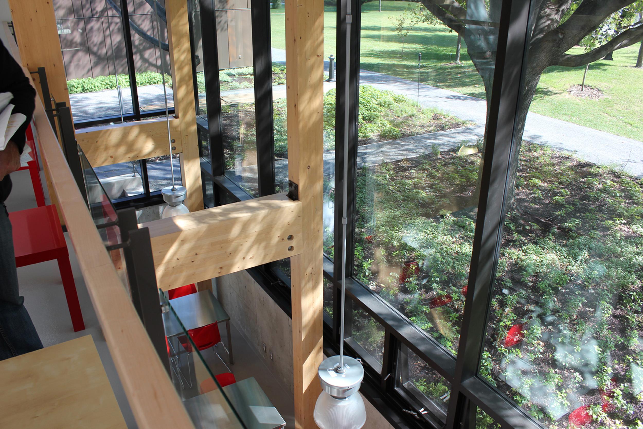 Pavillon horticole écoresponsable – ITA Campus de St-Hyacinthe Cecobois 7