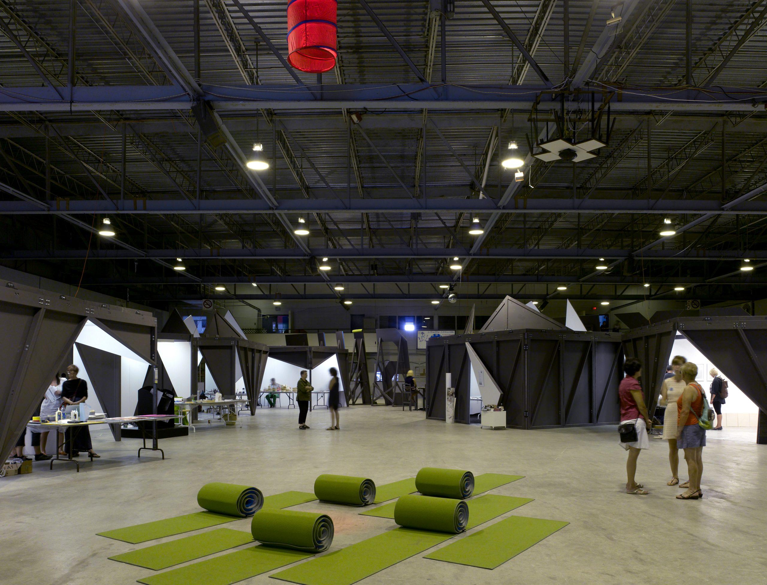 Symposium international d'art contemporain de Baie-Saint-Paul Cecobois 4