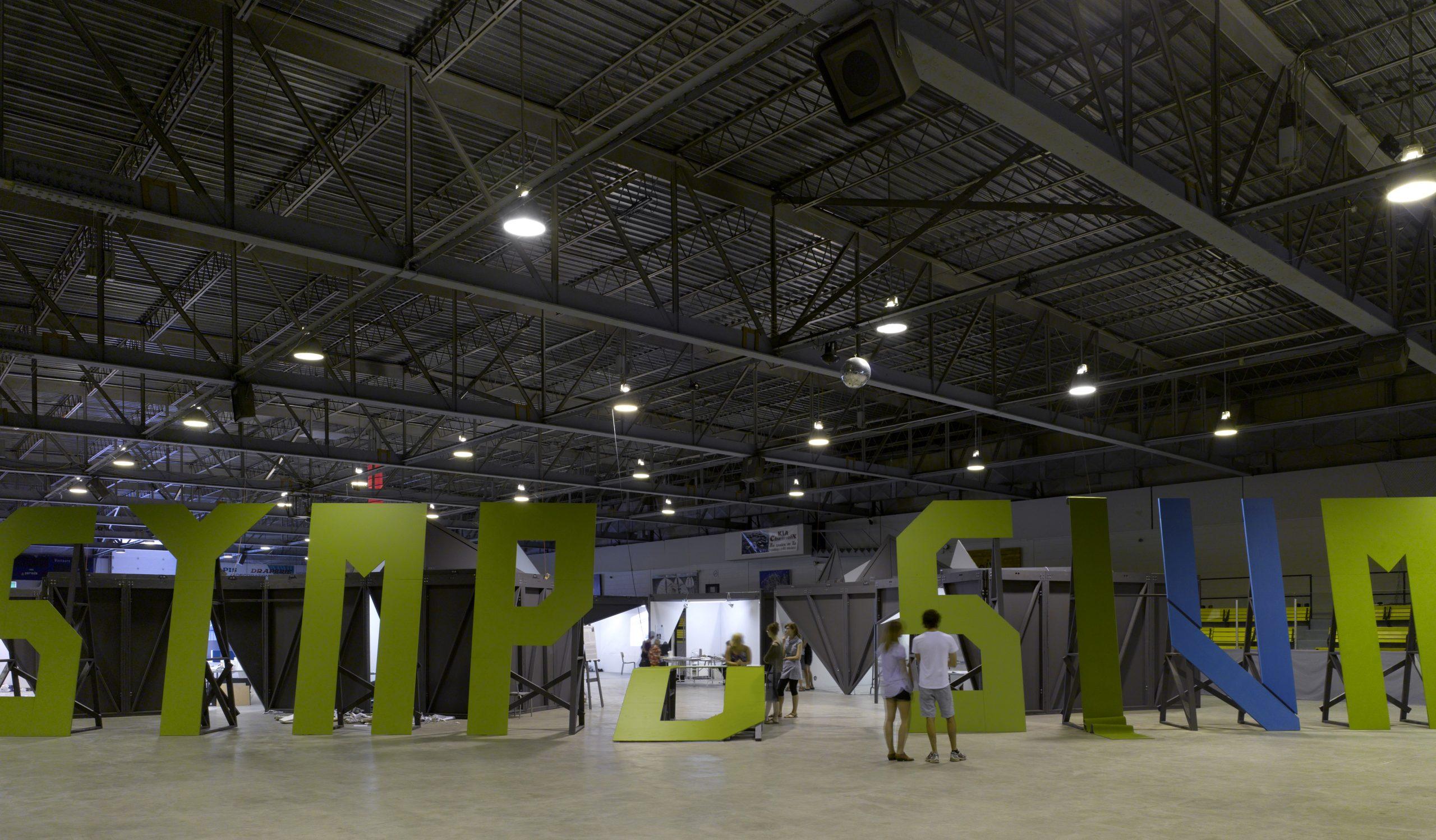 Symposium international d'art contemporain de Baie-Saint-Paul Cecobois 6