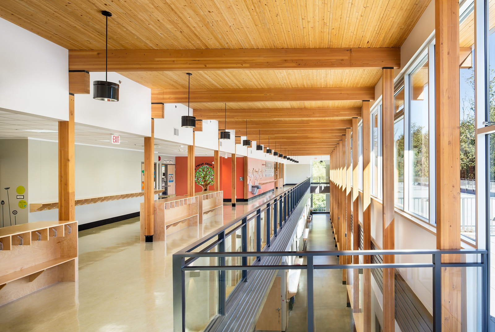 'Surrey Christian School Primary Wing Addition Cecobois