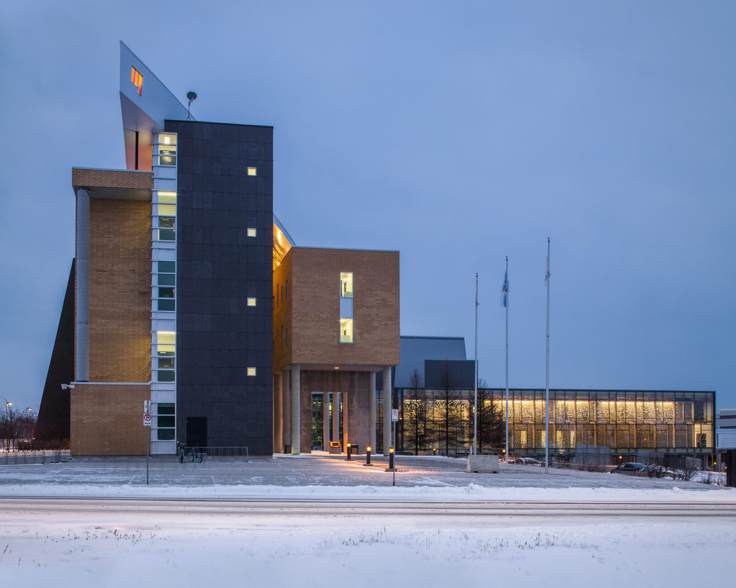 Agrandissement du campus de Rouyn-Noranda de l'UQAT Cecobois 1
