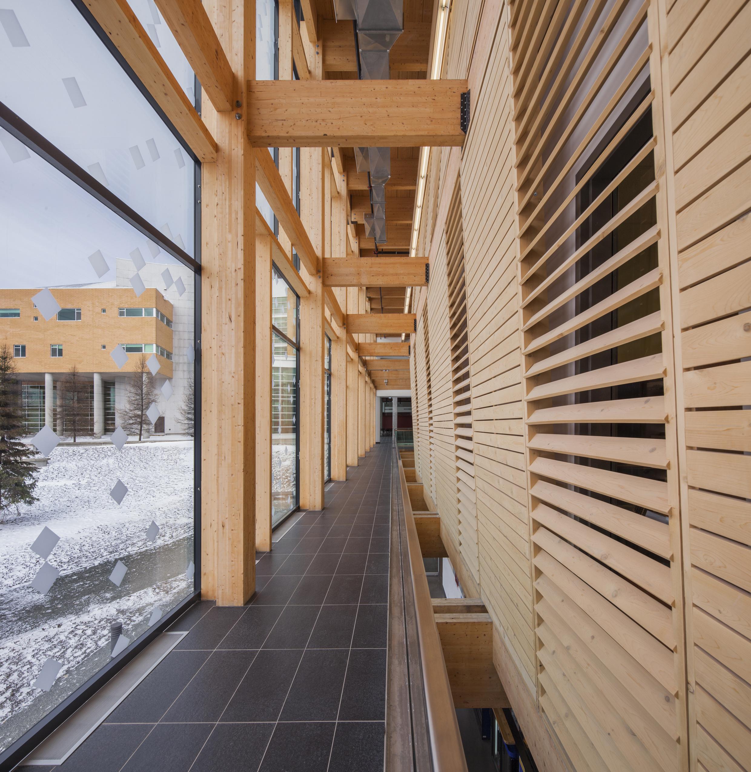 Agrandissement du campus de Rouyn-Noranda de l'UQAT Cecobois 3