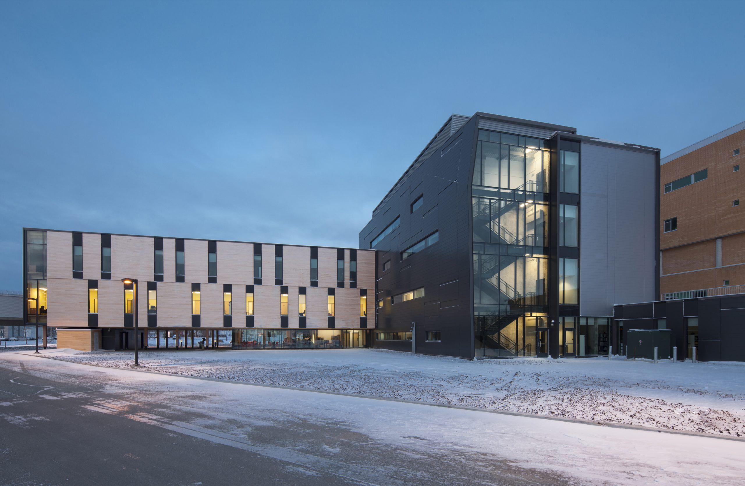 Agrandissement du campus de Rouyn-Noranda de l'UQAT Cecobois 8