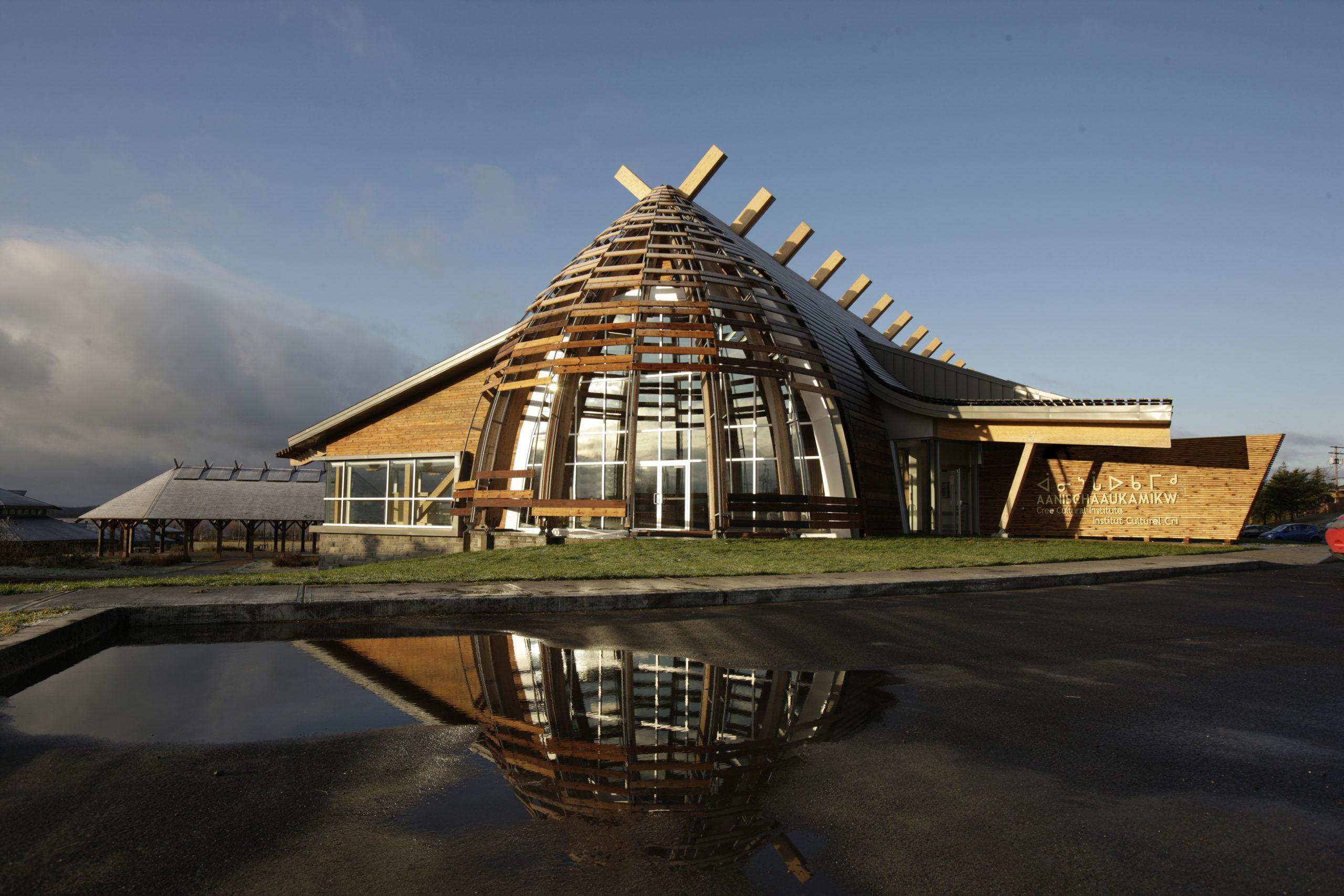 Institut culturel cri Aanischaaukamikw Cecobois 2