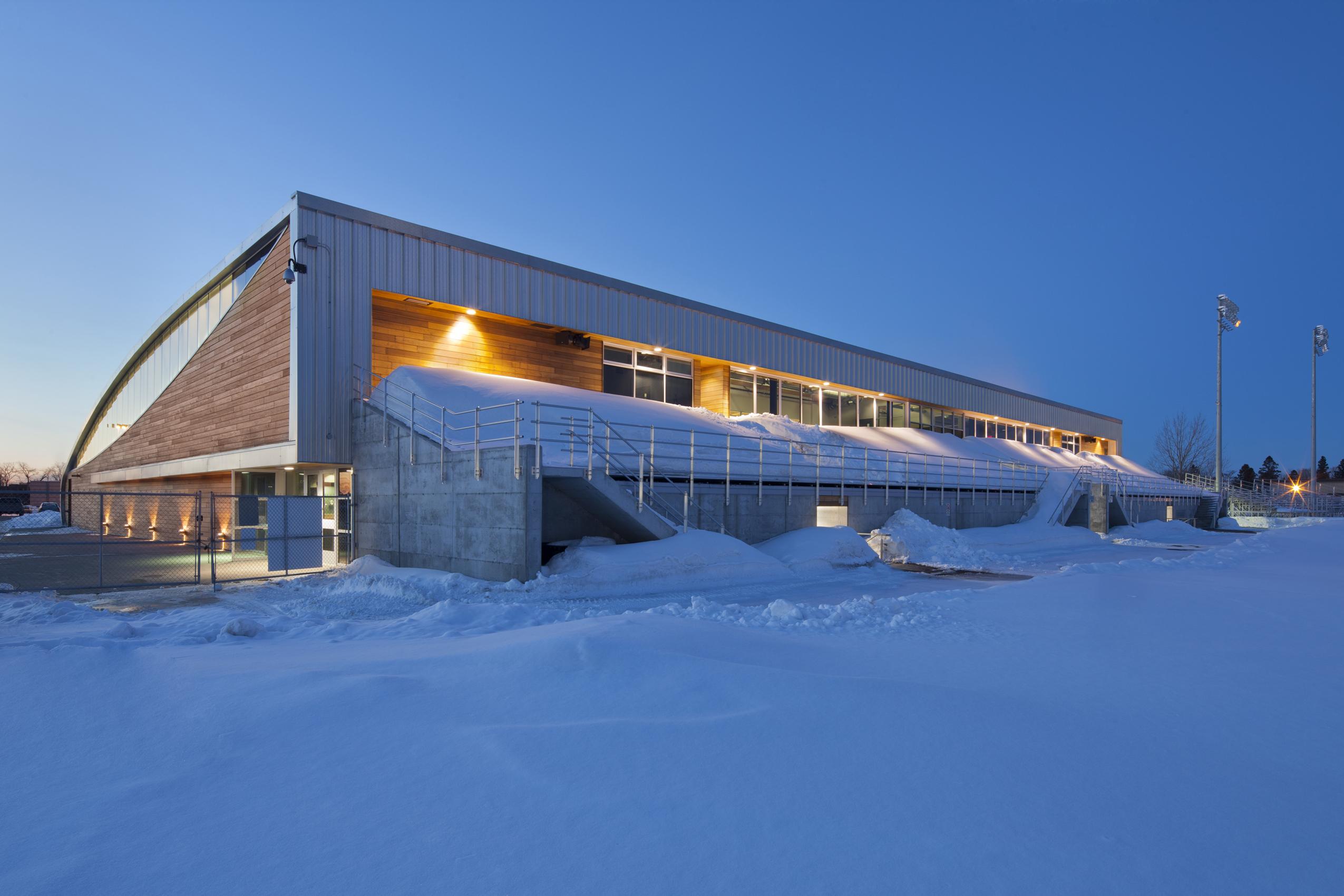 Aréna et pavillon de services de l'Université du Québec à Chicoutimi Cecobois 4