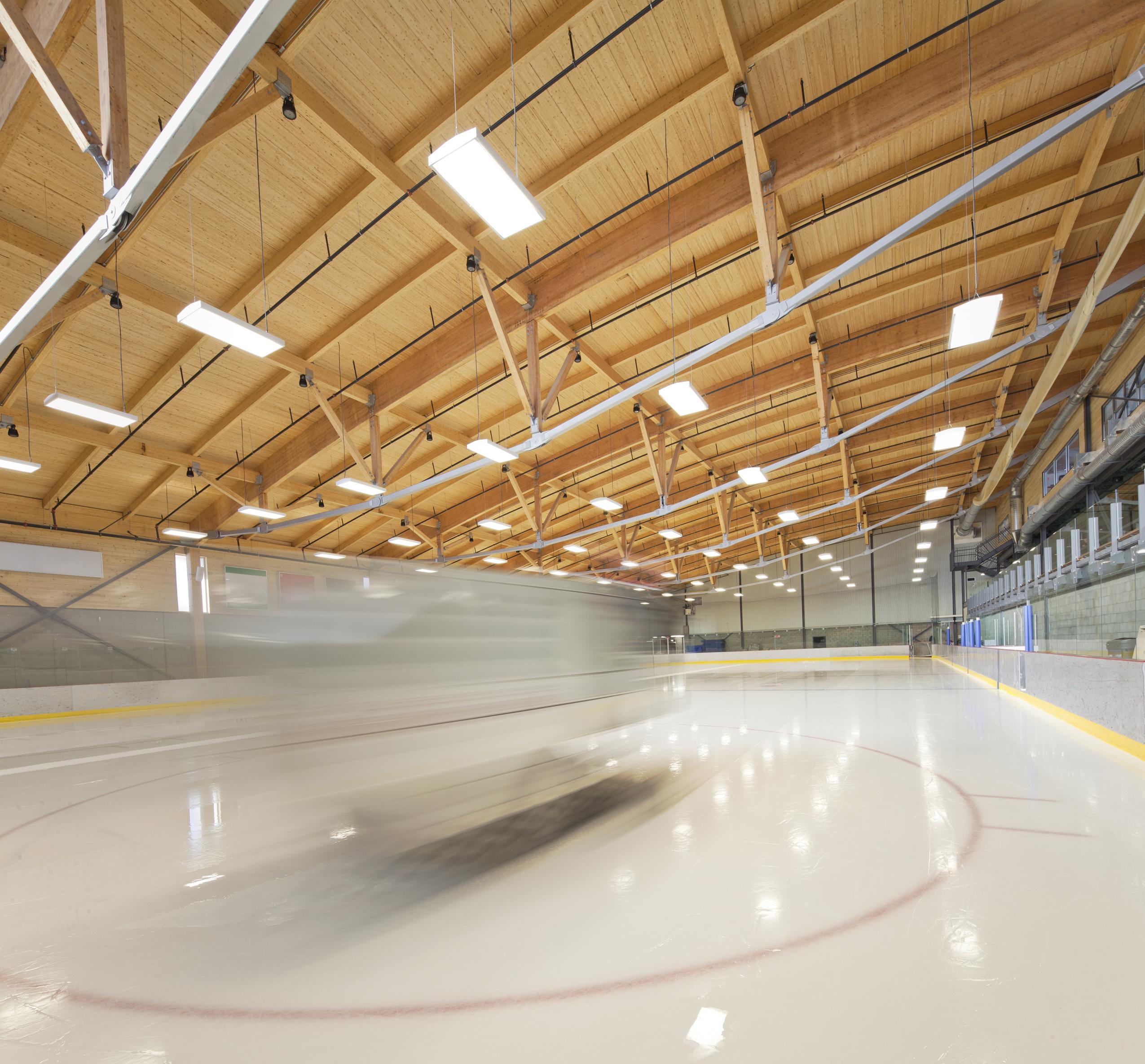 Aréna et pavillon de services de l'Université du Québec à Chicoutimi Cecobois 7