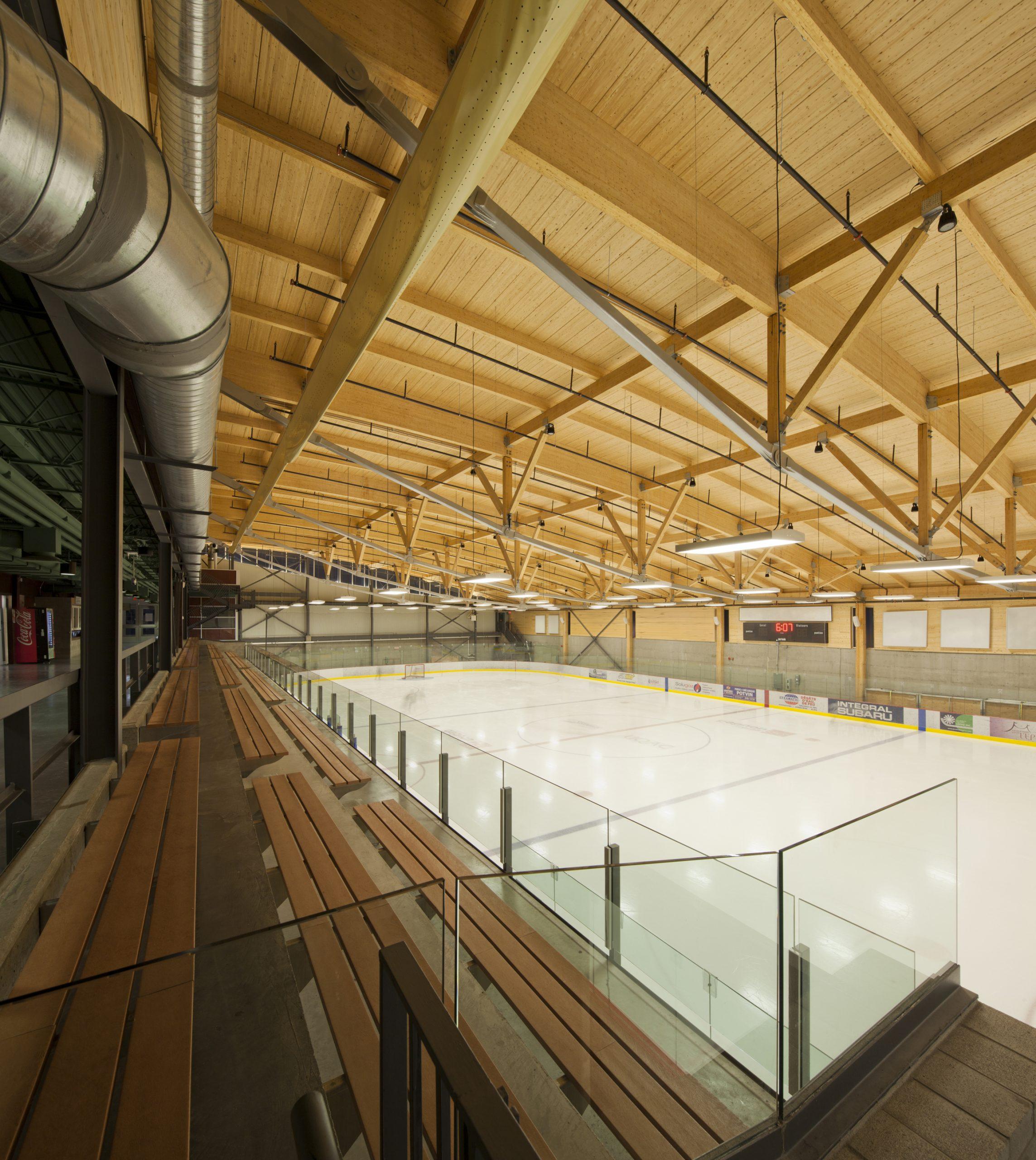 Aréna et pavillon de services de l'Université du Québec à Chicoutimi Cecobois 9